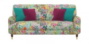 holmsirth small sofa liberty fabric