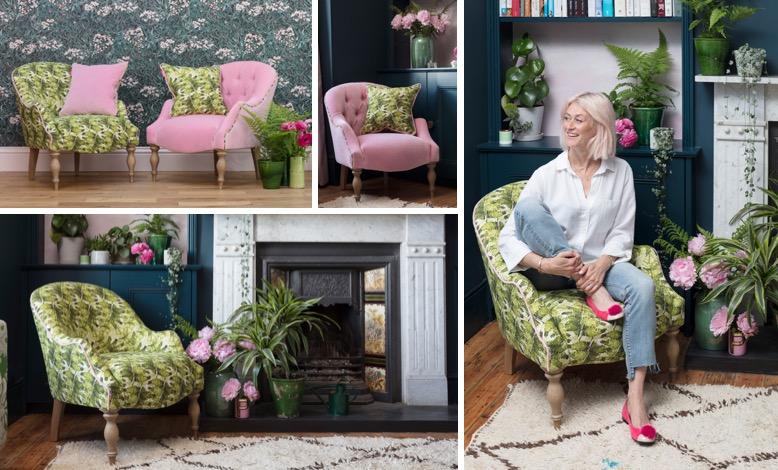 Sofas & Stuff Pink House