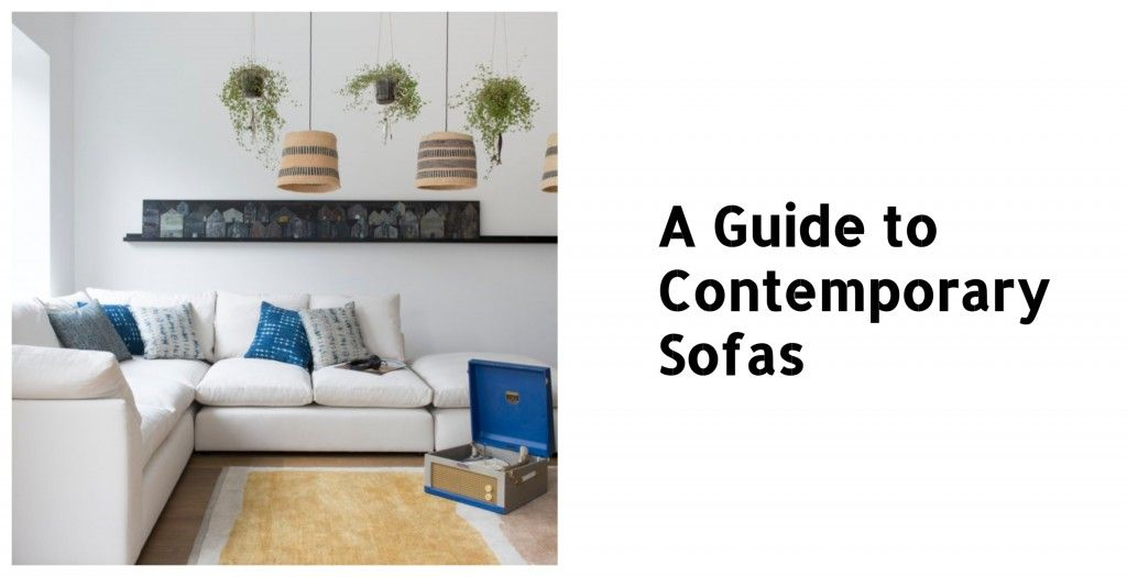 Contemporary Sofas image and text