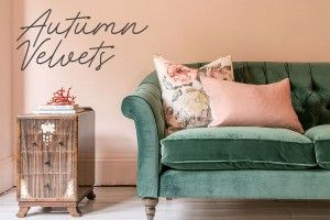 Photo of green velvet sofa from sofas and stuff