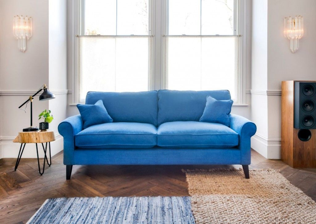 Picture of blue sofa from Sofas and Stuff