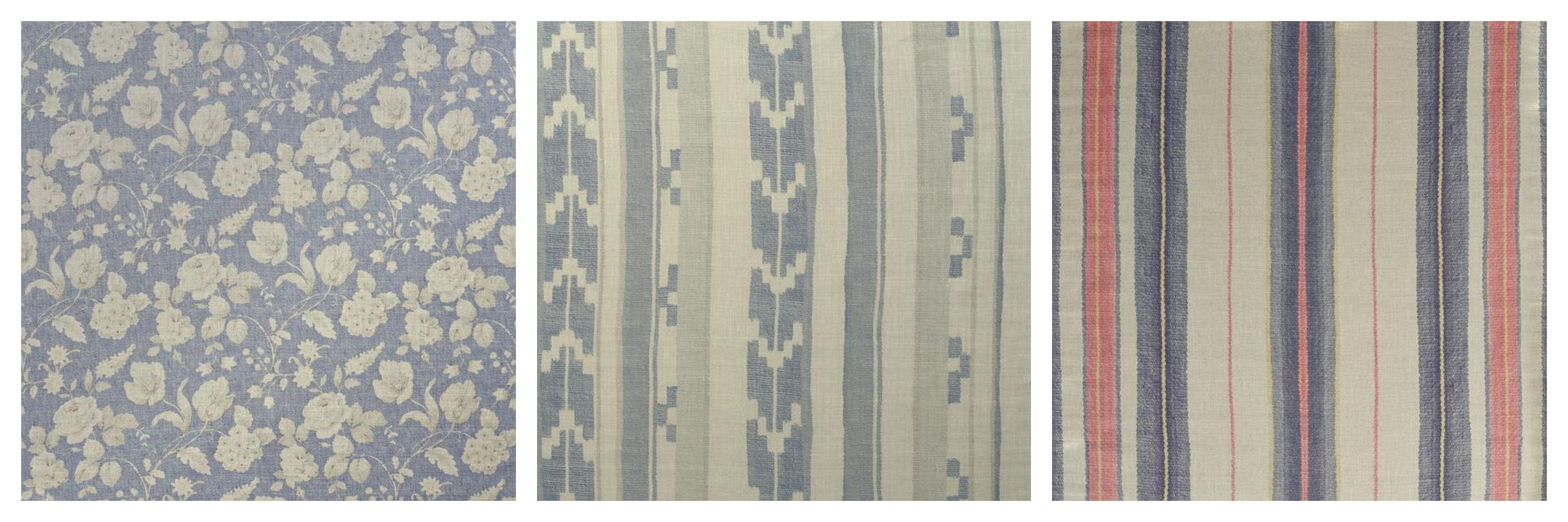 Narikala, Indus, & Elbrus fabrics by Andrew Martin