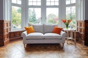 Aldingbourne 3 Seater Sofa in Chunky Herringbone Landscape