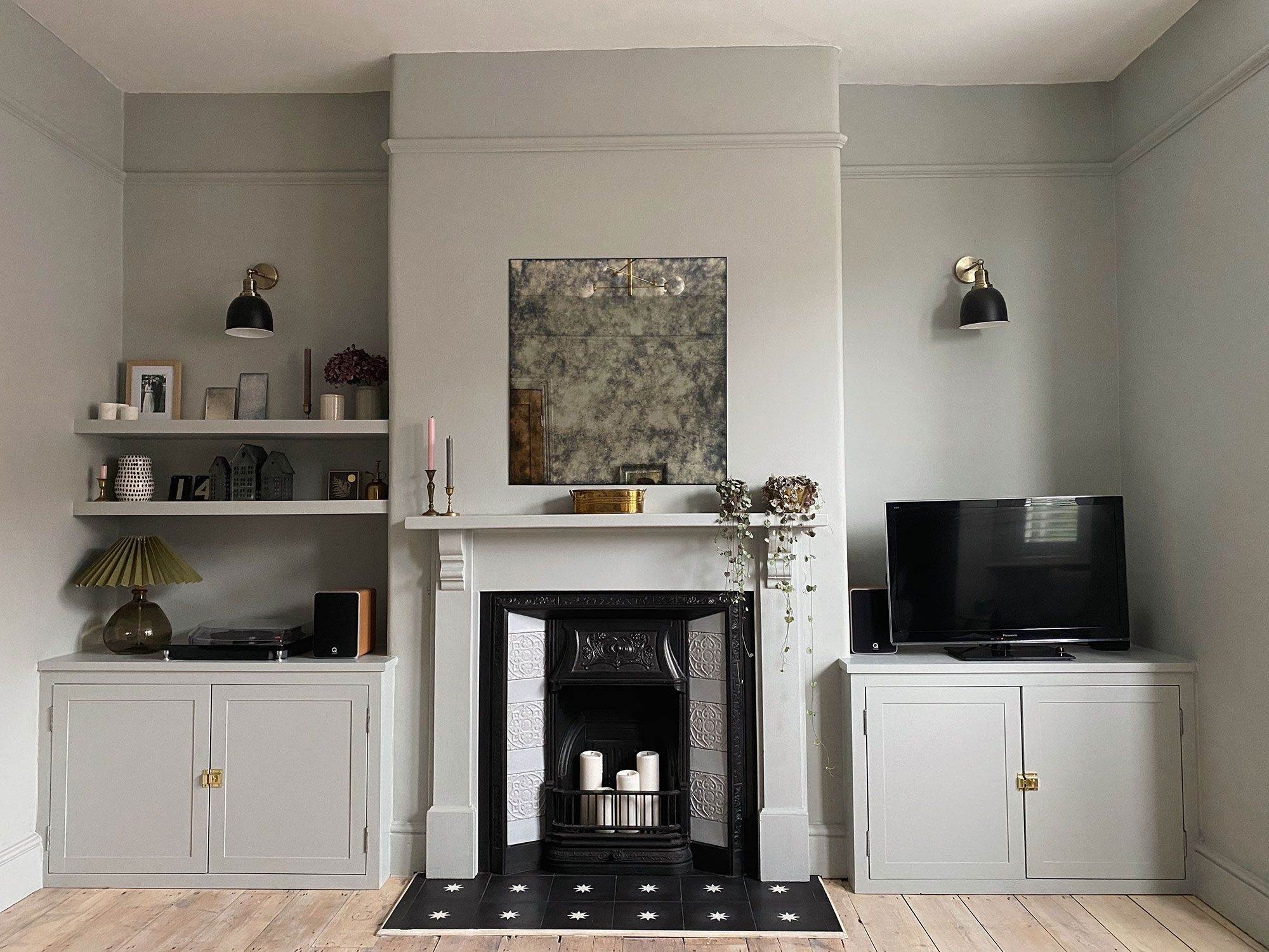 Jessi Harris living room interior