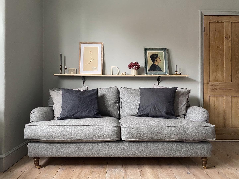 Jessi Harris' British handmade sofa