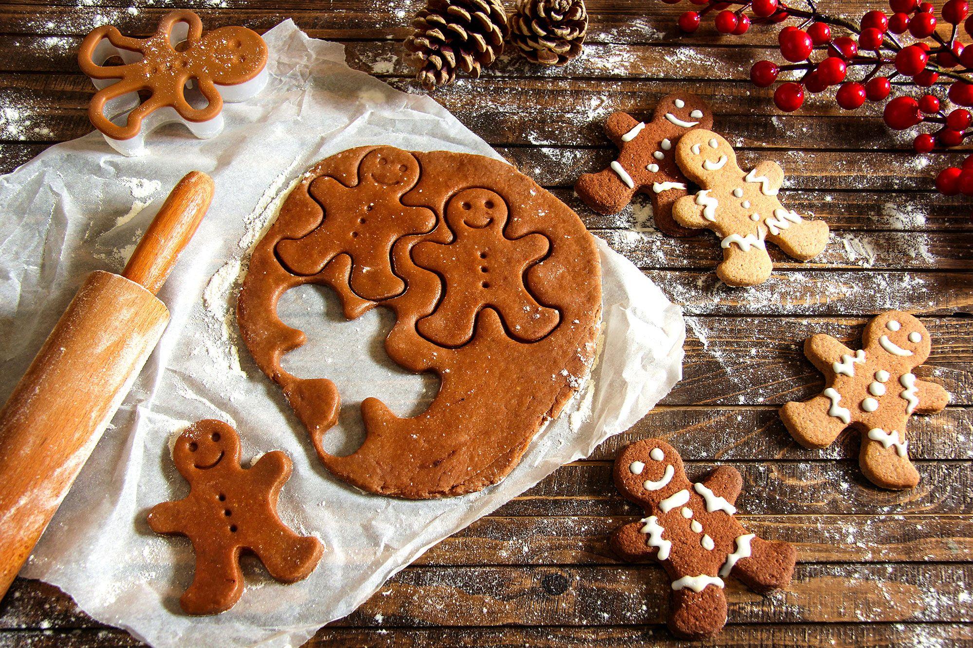 Sally's Baking Addiction gingerbread men cookies