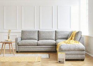 Langland sofa bed in Malton Pebble