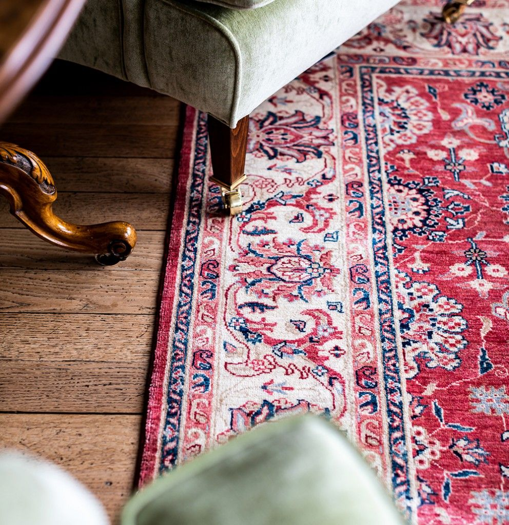 Rugs of Petworth handmade rug in situ