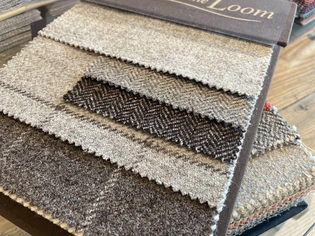 Natural wool sofa fabrics